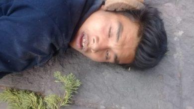 Ladrón, detenido , golpeado, Policía Turística del Estado, golpiza, Teatro Principal, peatón, video, nariz, boca, rostro, Centro Histórico de Puebla