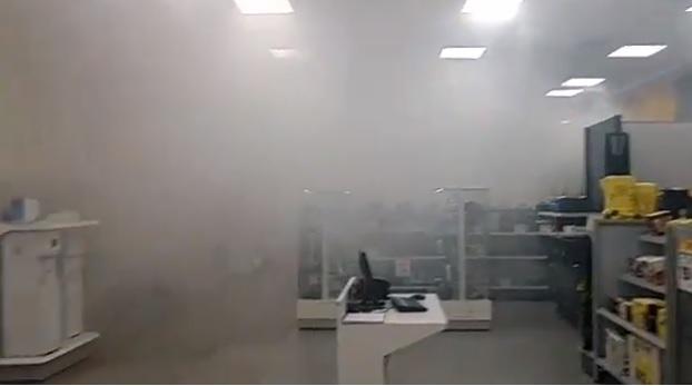 asalto, frustrado, humo, sistema de seguridad, Elektra, Villas San Alejandro, Bulevar Norte, 18 Poniente, SSPTM, FGE