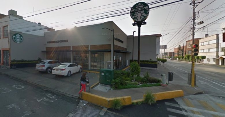 Starbucks, El Carmen, golpe, cabeza, japonés, robo, oposición, FGE, Policía Municipal, denuncia, empleados, clientes