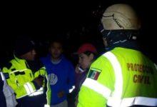 Parque Nacional La Malinche, Tlaxcala, Protección Civil, Policía Montada, rescate, extraviados