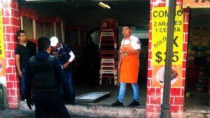 riña, homicidio, arma de fuego, taquería, San Andrés Cholula, muerto, lesionados, FGE