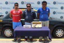 Portación ilgal de arma de fuego, colonia Las Ánimas, Bulevar Atlixco, Ministerio Público, cartuchos útiles, escuadra, Policía Municipal