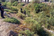 Embolsados, desmembrados, dren de Valsequillo, Tehuacán, bolsas negras, policía municipal, Fiscalía General del Estado, peritos, anfiteatro