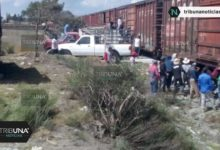 Robo, tren, Cañada Morelos, saqueo, vías férreas, Policía Estatal, Policía Federal División Gendarmería, Ejército, material químico,