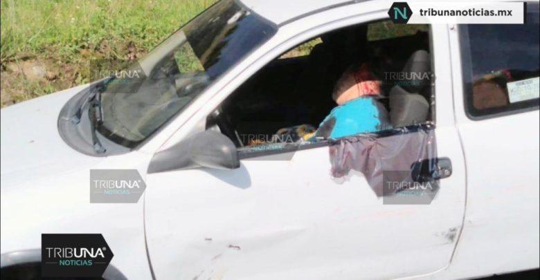 Automovilista, asesinado, disparos, baleado, cabeza, rostro, móvil del crimen, Estado de México, paramédicos, Policía Municipal, Policía Federal