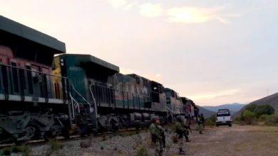 frustra, Guardia Nacional, Cañada Morelos, saqueo, tren, SSP, reporte, barricadas, San Antonio Soledad