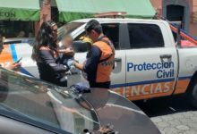 Protección Civil, bebé, Centro Histórico, Puebla, llaves, madre, Rescate Urbano, hospital, trauma, lesión, deshidratación