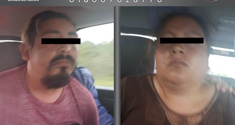 Pareja de extorsionadores, Estado de México, Chignahuapan, transporte público, homicidio, Transportes Marte, FGJ, orden de aprehensión, Ecatepec, Tecamac