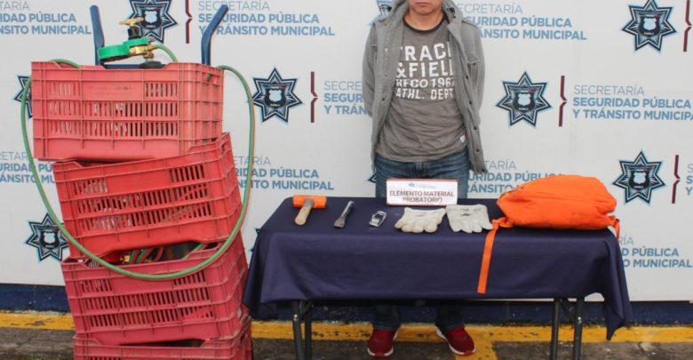 Secretaría de Seguridad Pública y Tránsito Municipal, patrullaje de vigilancia, robo, mercancía, dinero en efectivo, gas LP, Juez Calificador, registros penales
