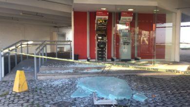 cajeros automáticos, vandalizados, HSBC, gavetas, dinero en efectivo, cajas, oficinas, colonia Volcanes, 25 Poniente, 25 Sur, robo, sujetos desconocidos