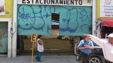 trabajos de limpieza, Centro Histórico de Puebla, grupo Relámpagos de Protección Civil Municipal, MUERTE, caída, Cruz Roja, Traumatismo craneoencefálico severo, canaletas, estacionamiento, FGE