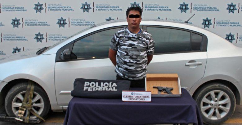 Secretaría de Seguridad Pública y Tránsito Municipal, arma de fuego, licencia, arma de fuego, conductor, Policia Federal, Ministerio Público