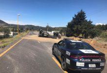 volcadura, pipa, gasolina, lado derecho, Esperanza, Autopista Puebla-Orizaba, Bomberos, Policía Federal