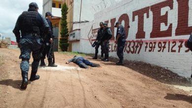 Motociclista, ejecutado, disparos, Chignahuapan, arma de fuego, lesionado, Paramédicos, Cruz Roja, ministerio público