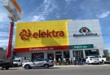 Elektra, San Jerónimo Caleras, FGE, SSPTM, mecánica de los hechos, equipo de cómputo, monto robado, no cuantificado, fuga, taxi