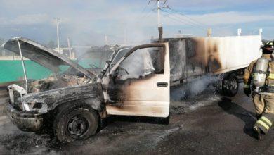 accidente, San Martín Texmelucan ,Autopista México-Puebla, CAPUFE, Policía Federal, Bomberos, daños materiales, llamas, falla mecánica