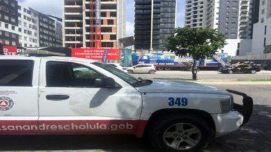 caída, edificio, construcción, obra, vigilante, Juan Antonio, familia, Cholula, Protección Civil, Lomas de Angelópolis