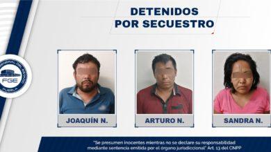 Secuestro, operativo, rescate, FISDAI, mujer, Puebla, seminarista, Central de Autobuses, efectivo, celulares, Veracruz, Morelos, prisión preventiva