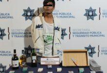 Robo a negocio, Oxxo, El Chucho, detenido, Policía Municipal, San Francisco Totimehuacán, Ministerio Público, remitido, antecedentes penales
