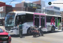 RUTA, Jetta, choque, bulevar 5 de Mayo, Grupo Relámpagos de Protección Civil Municipal, paramédicos, ambulancias, Tránsito Municipal, peritajes, SUMA