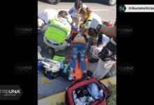 Mujer, reanimación, revive, brutal atropellamiento, paramédicos, Hospital, camioneta, autopista a Atlixco, SUMA, lesiones craneoencefálicas, peatones