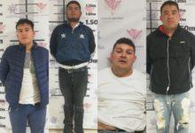 balacera, intento de asalto, Elektra, Bodega Aurerrá, Cuautlancingo, Policía, falsa alarma, linchamiento, detenidos, baleado, pierna, traslado, hospital, resguardo policial