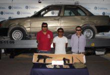 asaltantes, detenidos, Starbucks, vehículo, reporte de robo, Nissan Tsuru, Ministerio Público, disposición, colonia El Ángel
