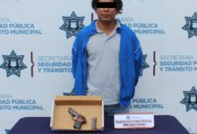 orinar, vía pública, bulevar Carmen Serdán, San Felipe Hueyotlipan, Ministerio Público, portación de arma de fuego, sin licencia