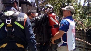 Cruz Roja, ahogado, Amozoc, cadáver, pozo, Ministerio Público, asfixia mecánica, investigaciones correspondientes
