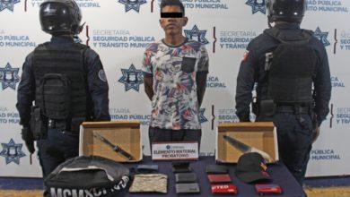 Ministerio Público, colonia El Refugio, detención, robo a transporte público, microbús, ruta 38 A, objeto punzocortante,