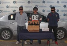 SSPTM, detenidos, robo a comercio, empresa cervecera, caguamas, Infonavit, La Margarita, Ministerio Público