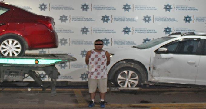 SSPTM, detenido, persecución, robo de vehículo, Constitución Mexicana, Ministerio Público