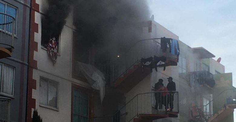 incendio, Coronango, Misiones de San Francisco, San Francisco Ocotlán, Bomberos, Protección Civil, daños materiales