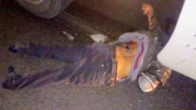 accidente, motociclista, sin casco de seguridad, muerto, arrollado, choque, tráiler, autopista México-Puebla, Policía Federal, paramédicos