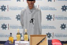 Oxxo, La Libertad, asalto, botellas de licor, cigarrillos, Policía Municipal, objeto punzocortante, Nota Roja, Código Rojo, Puebla, Noticias
