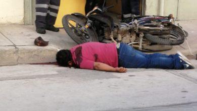 Ejecutan, hombre, disparos, San Martín Texmelucan, occiso, motocicleta, urgencias médicas, cadáver