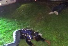 choque, atropellamiento, Atlixco, motociclistas, muertos, carretera federal, asta bandera, accidente, muertos