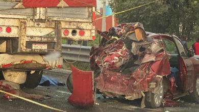 accidente, colisión, San Antonio Abad, autopista, Puebla-Orizaba, Policía Federal, SUMA, Capufe, cadáveres, muertos