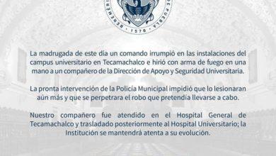 intento, asalto, BUAP, Tecamachalco, comando armado, campus, disparos, DASU, seguridad, guardia, Policía Municipal, traslado, Hospital Universitario, Noticias, Puebla, Código Rojo, Nota Roja