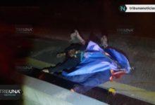 paramédicos, Capufe, San Jerónimo Caleras, atropellado, muerto, Autopista México-Puebla, Código Rojo, Nota Roja, Puebla, Noticias