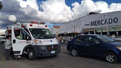 Hombre, tercera edad, atropellado, Mercado Morelos, automovilista, paramédicos, SUMA, cadáver, FGE