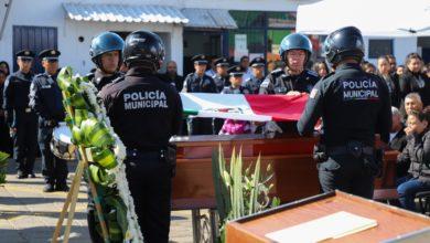 Homenaje póstumo, Jesús Humberto Vázquez Ojeda, SSC, Policía Municipal, familia, compañeros de trabajo, Código Rojo, Nota Roja, Noticias, Puebla
