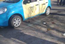 San Juan Atenco, taxista, intento de asalto, robo de vehículo, sujetos, arma de fuego, compañeros, disparo, ambulancia, Código Rojo, Nota Roja, Puebla, Noticias