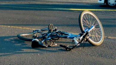 Ciclista, herido de gravedad, embestido, Acatzingo, vehículo pesado, barrio de Las Tres Horas, paramédicos, Cruz Ámbar