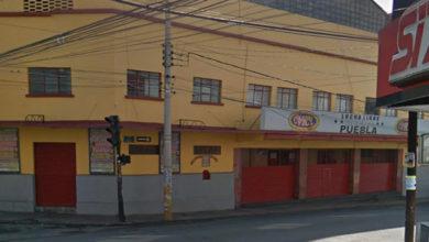 Arena Puebla, El Carmen, lucha libre, botín, robo, atraco, asalto, SSC Municipal, delincuentes
