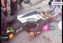 CENHCH, motociclista, Valsequillo, choque, Chevy, carretera, inmediaciones, paramédicos, SUMA, Código Rojo, Nota Roja, Noticias, Puebla