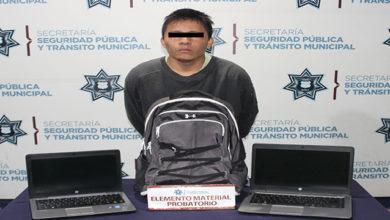 robo, autopartes, equipo de cómputo, Plan de Ayala, detenido, Policía Municipal, SSC Municipal, persecución