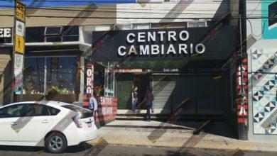 Centro Cambiario Oro y Plata, Huexotitla, incendio, robo, botín, 400 mil pesos, robo, FGE, denuncia, Puebla, noticias, Nota Roja, Código Rojo
