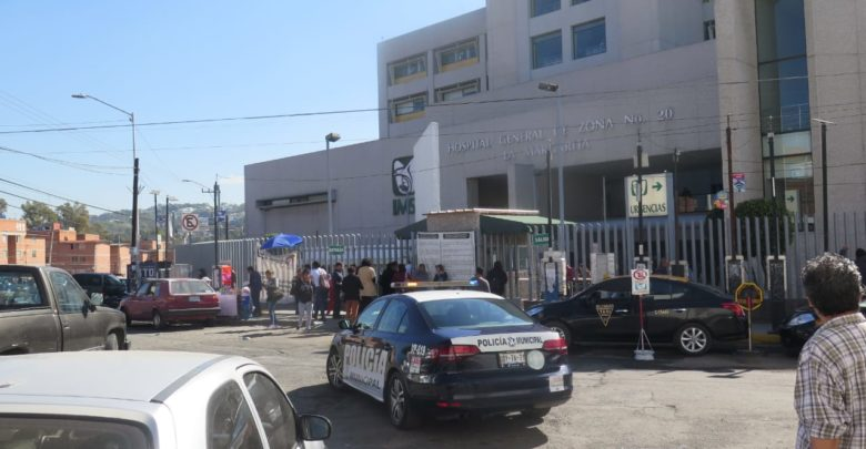 suicidio, custodia policial, IMSS, hospital, La Margarita, baños, tercer piso, ahorcado, colgado, Código Rojo, Nota Roja, Puebla, Noticias
