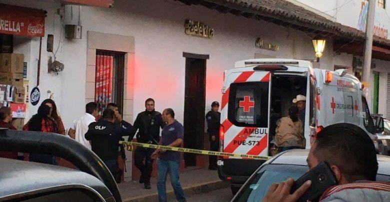 Disparo, cabeza, Elektra, Zacatlán, Melchor Ocampo, Cruz Roja, deceso, agentes ministeriales, ataque directo